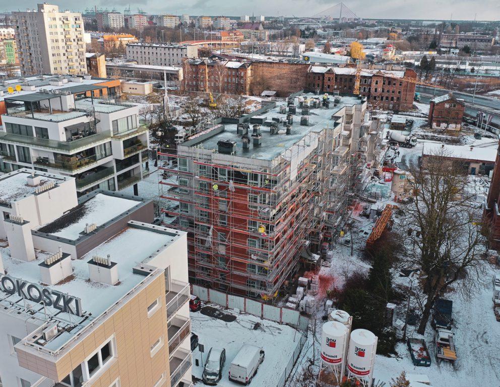 SCALA Apartamenty – Kronika budowy