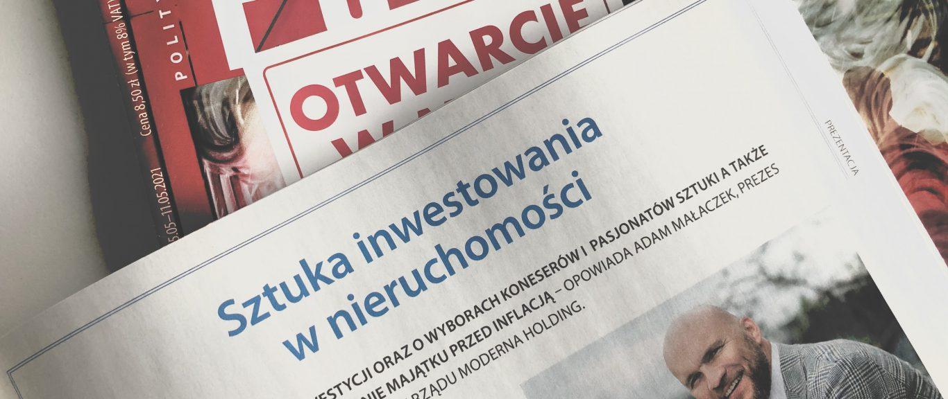 Adam Małaczek – Polityka Wywiad