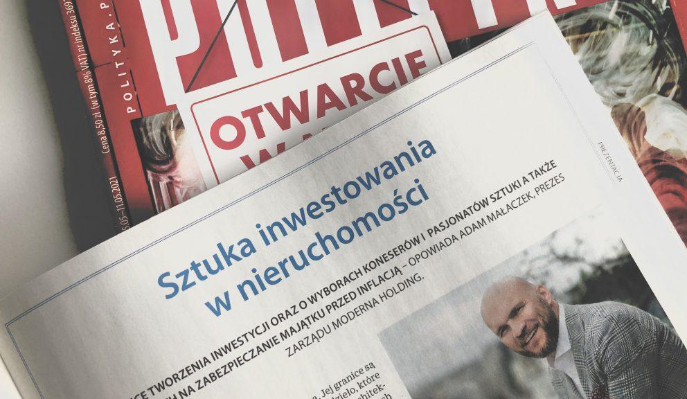 Adam Małaczek o sztuce inwestowania w nieruchomości